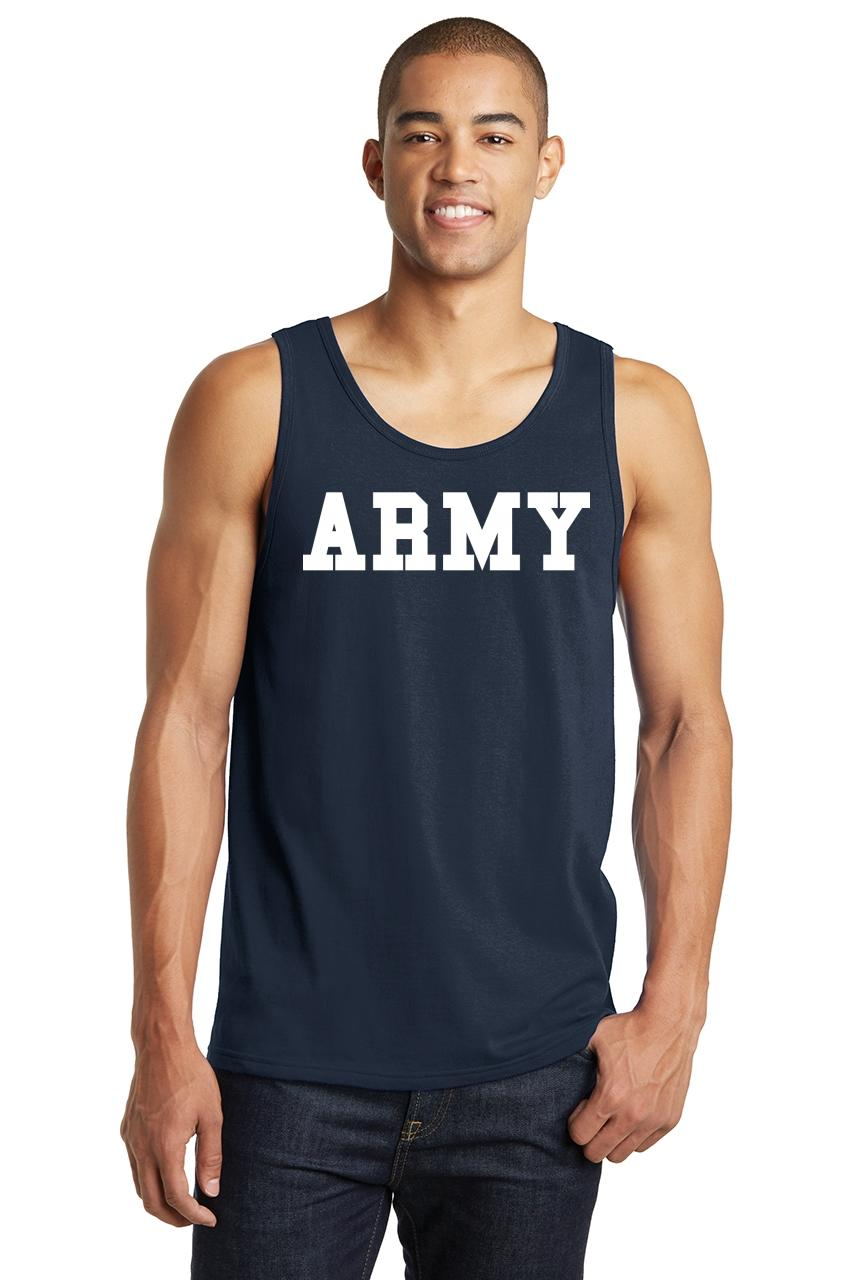 Mens-Army-Tank-Top-Military-Usa-American-Price-Soldier-Shirt thumbnail 9