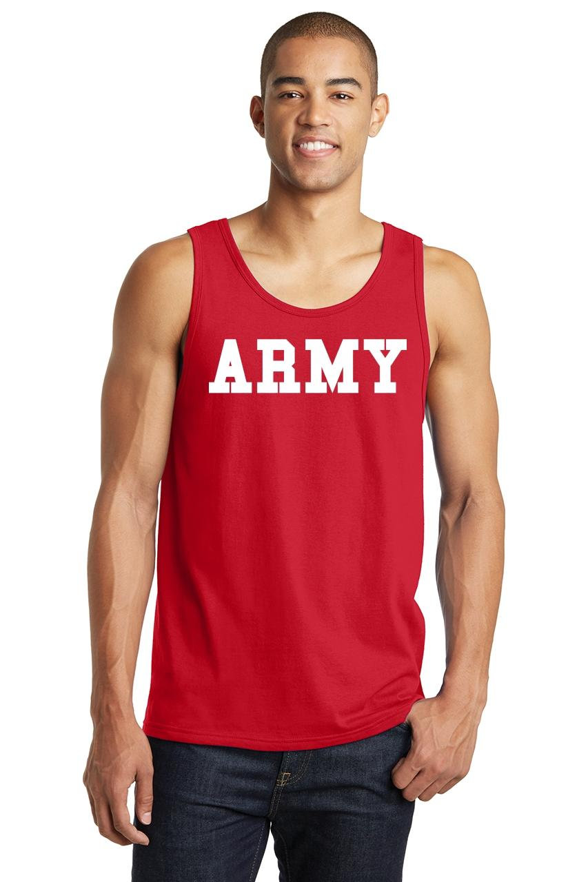 Mens-Army-Tank-Top-Military-Usa-American-Price-Soldier-Shirt thumbnail 12