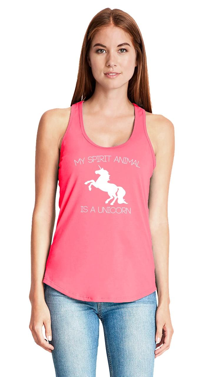 My-Spirit-Animal-Is-A-Unicorn-Funny-Ladies-Tank-Top-Unicorn-Lover-Gift-Tank-Z6 thumbnail 27