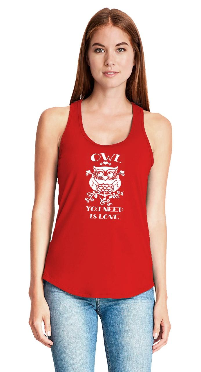 Owl-You-Need-Is-Love-Funny-Ladies-Tank-Top-Relationship-Valentine-039-s-Day-Gift-Z6 thumbnail 12