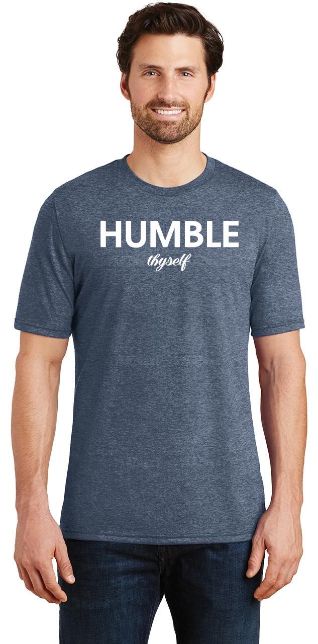 Mens-Humble-Thyself-Tri-Blend-Tee-Religious-Inspirational-Country-Yoga thumbnail 18