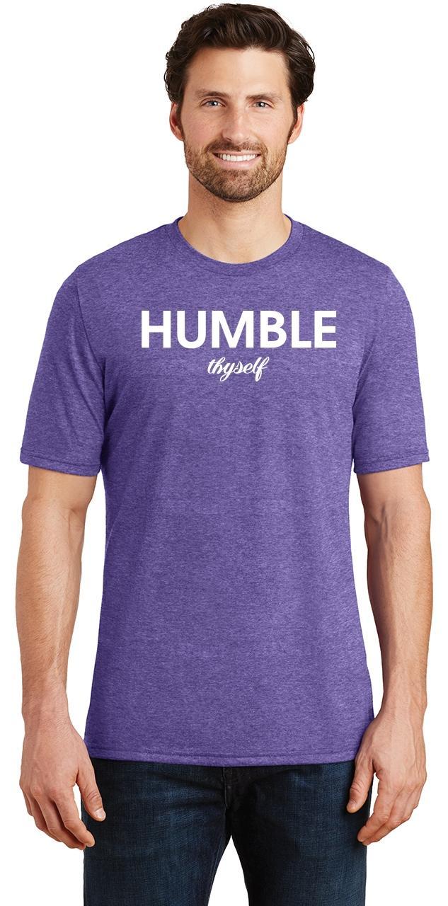 Mens-Humble-Thyself-Tri-Blend-Tee-Religious-Inspirational-Country-Yoga thumbnail 21