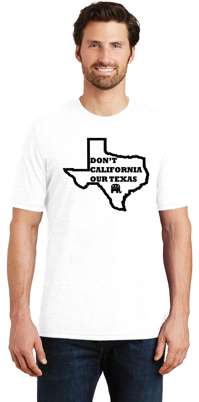 Mens-Don-039-t-California-Our-Texas-Tri-Blend-Tee-Republican-Cruz-Political-Shirt thumbnail 33