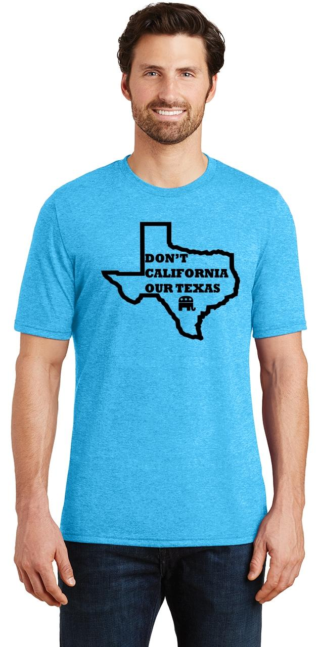 Mens-Don-039-t-California-Our-Texas-Tri-Blend-Tee-Republican-Cruz-Political-Shirt thumbnail 30