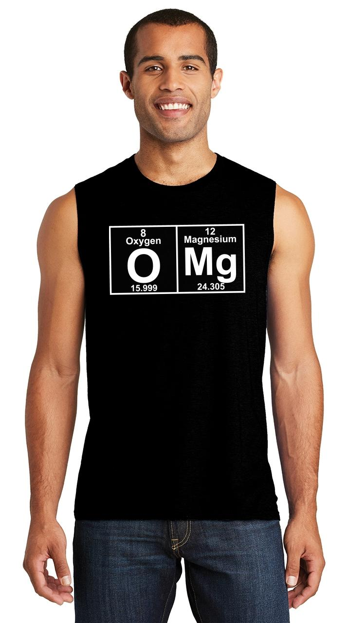 Brother Periodic Table Elements Science Mens Sleeveless Shirt