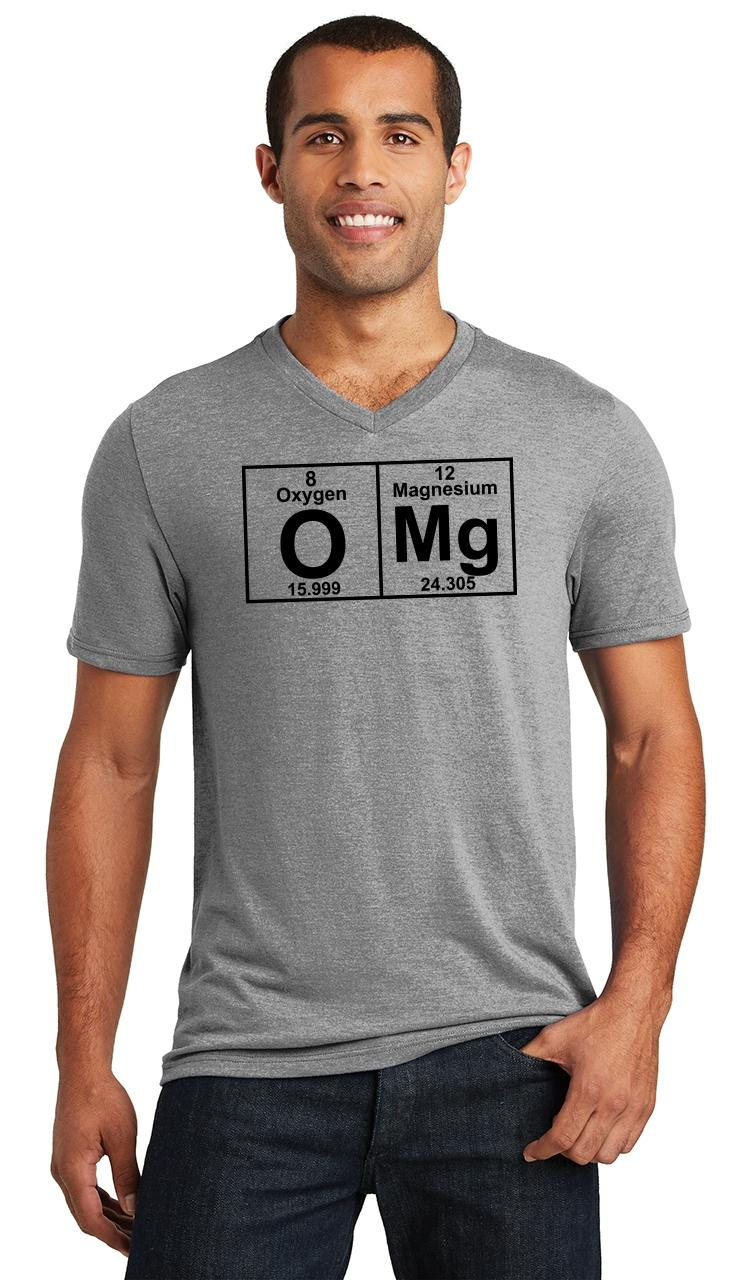Ladies T Shirt Science Geek Periodic Table of Elements Sizes xs to 2xl